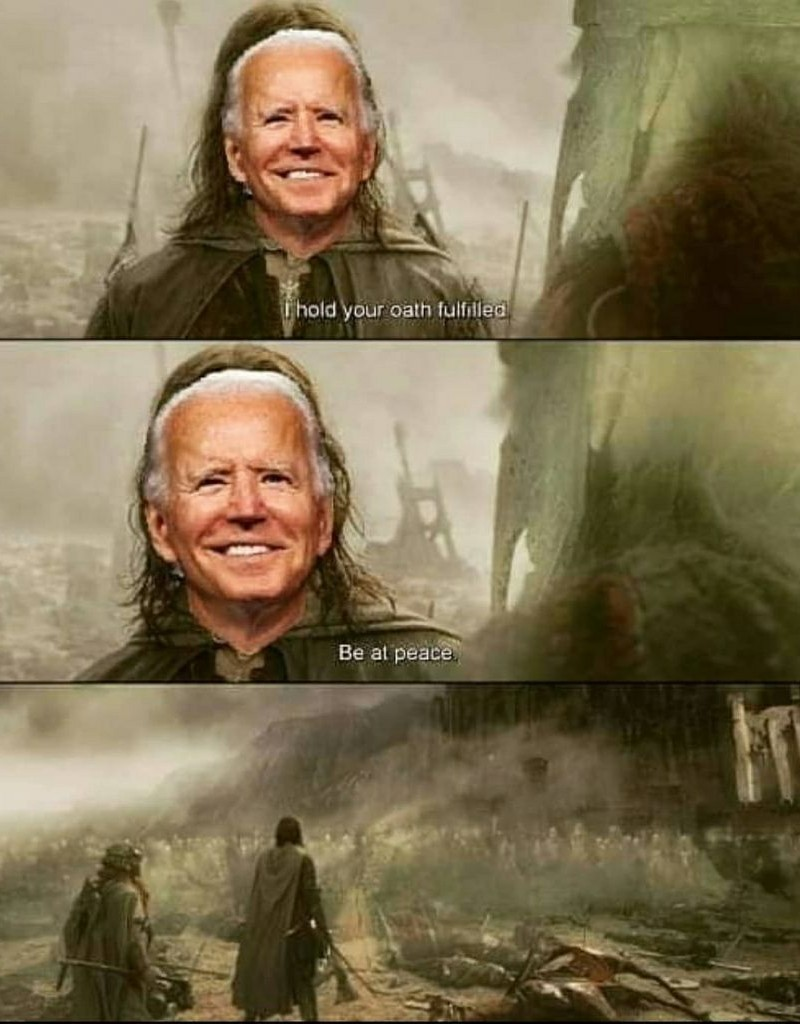 More 120 year olds voted for Joe than anyone who ever ran before - meme