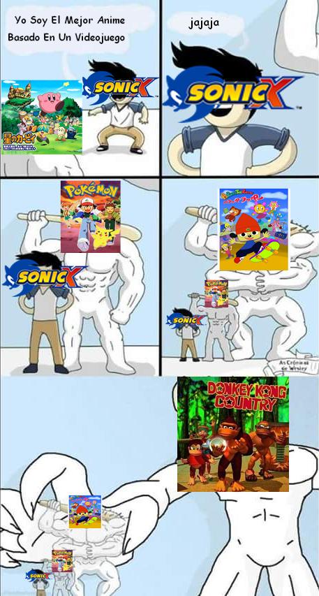 Objetivamente hablando, Sonic X no era tan buena - meme