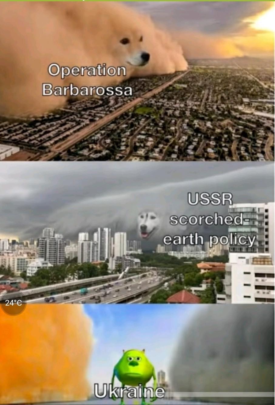 Live of the Ukrainian - meme