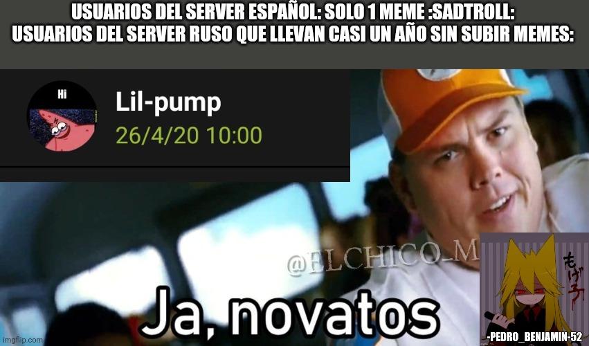 Hasta el server polaco subió memes durante ese periodo