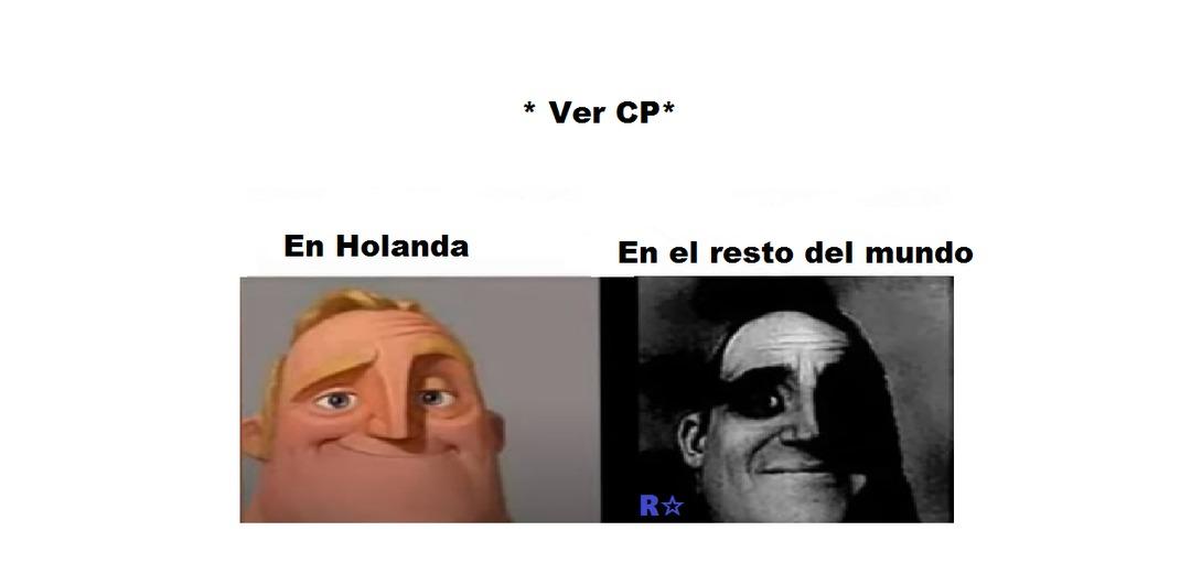 también es ilegal ahí pero es mas común encontrar cp en Holanda - meme