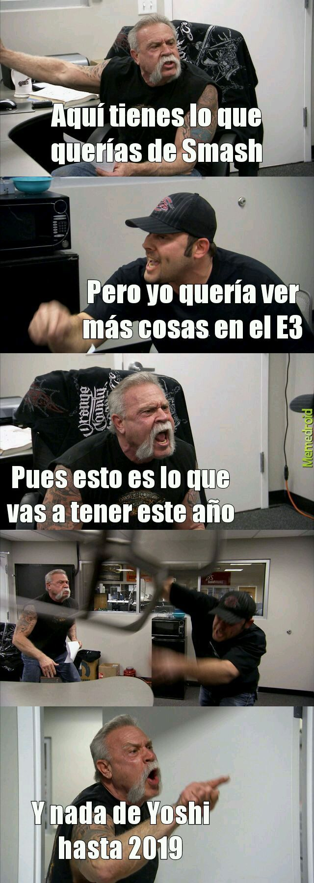 Nintendo E3 - meme