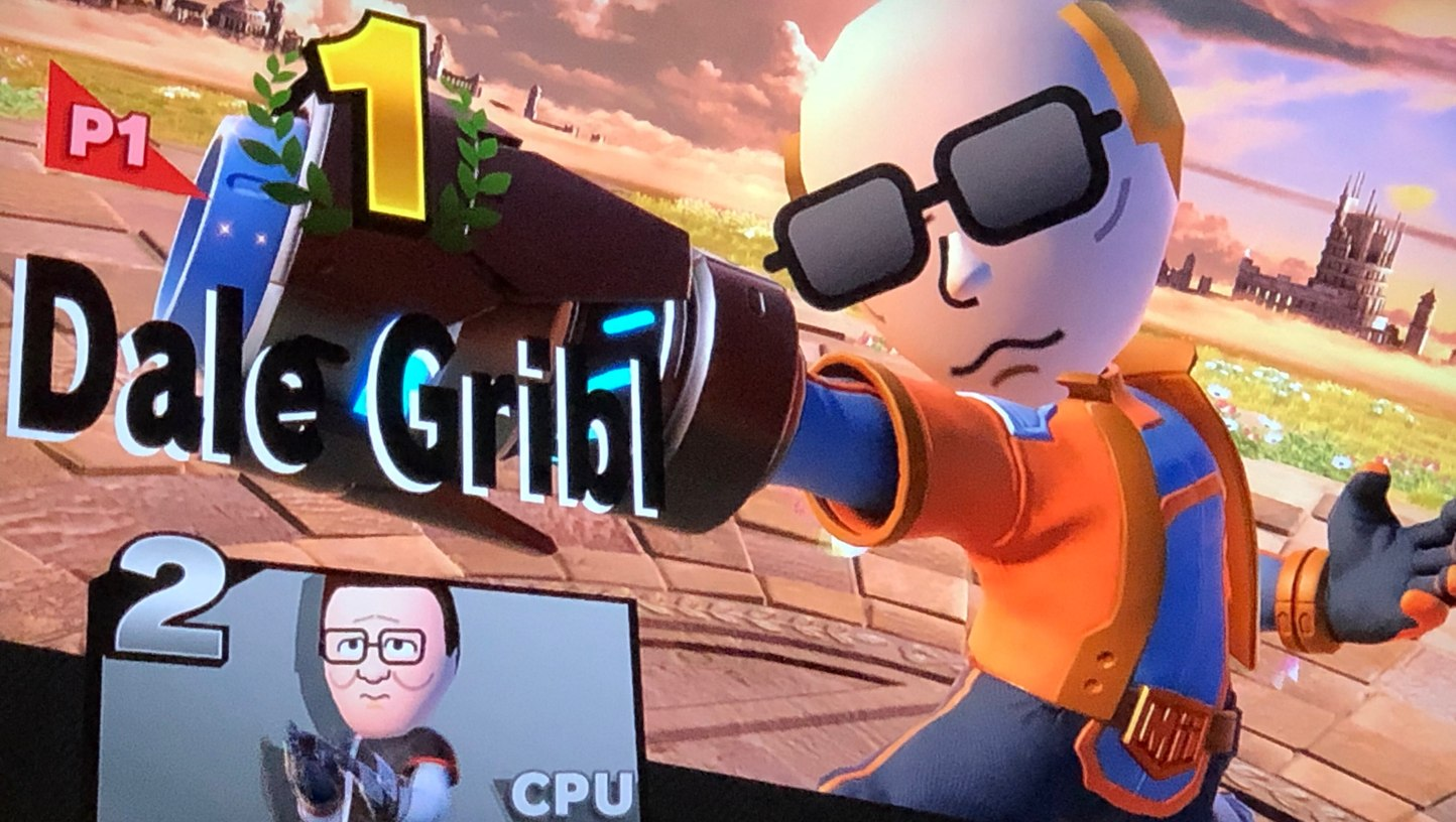 I either defiled Smash bros, or made it better, (Hank brings the Pro-Pain.) (Dale exterminates the competition.) - meme