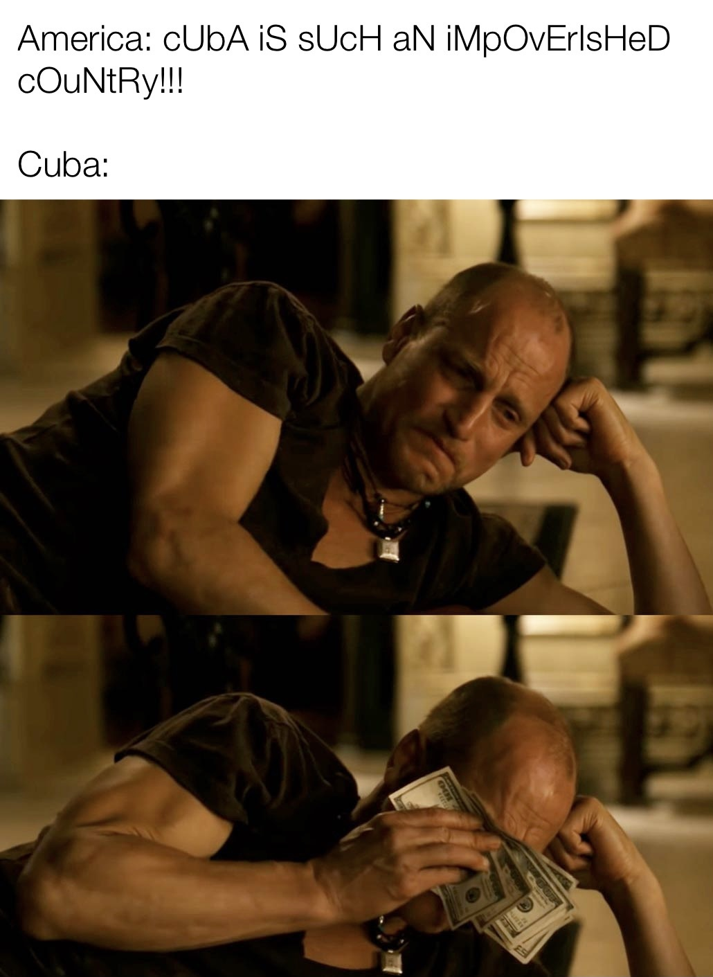 Cuba is the most sustainable country in terms of tech rn - meme