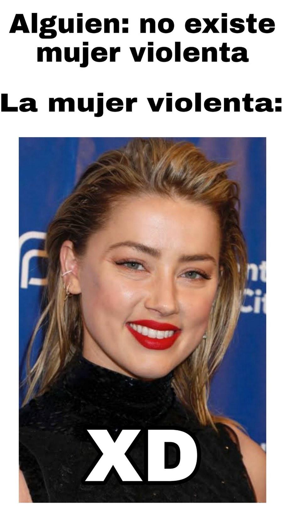 Para el que pide contexto, es la esposa de Jhonny Depp. - meme