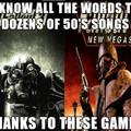 Thanks Fallout....