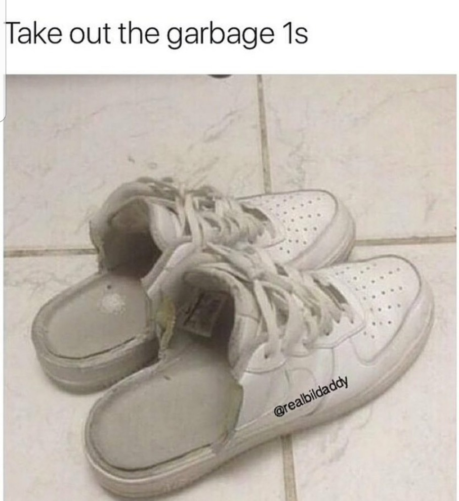 Just use slippers - meme