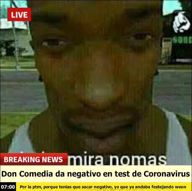 Maldito Don Comedia :why:  :youwin: - meme