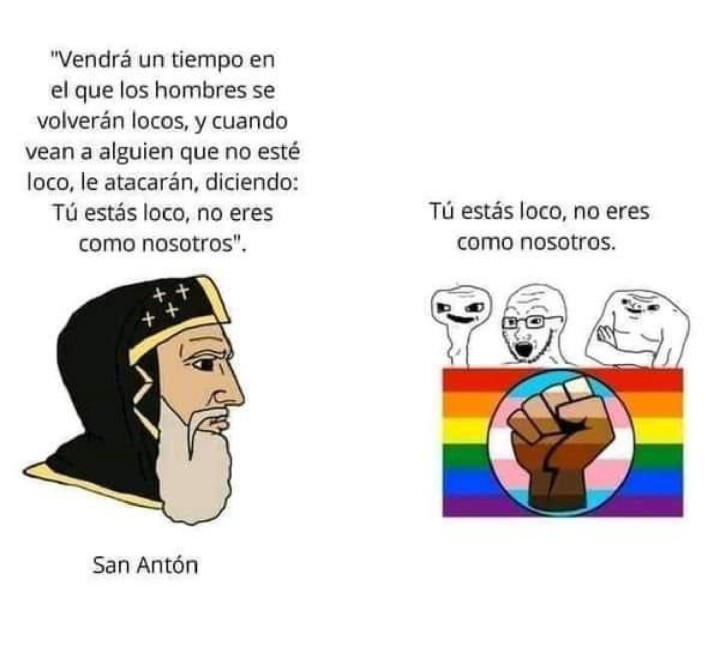 San Anton era sabio - meme