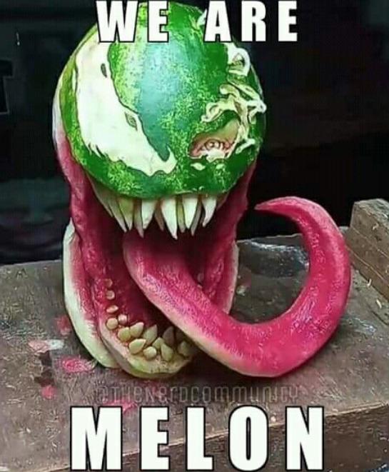 le titre mange une pastèque - meme