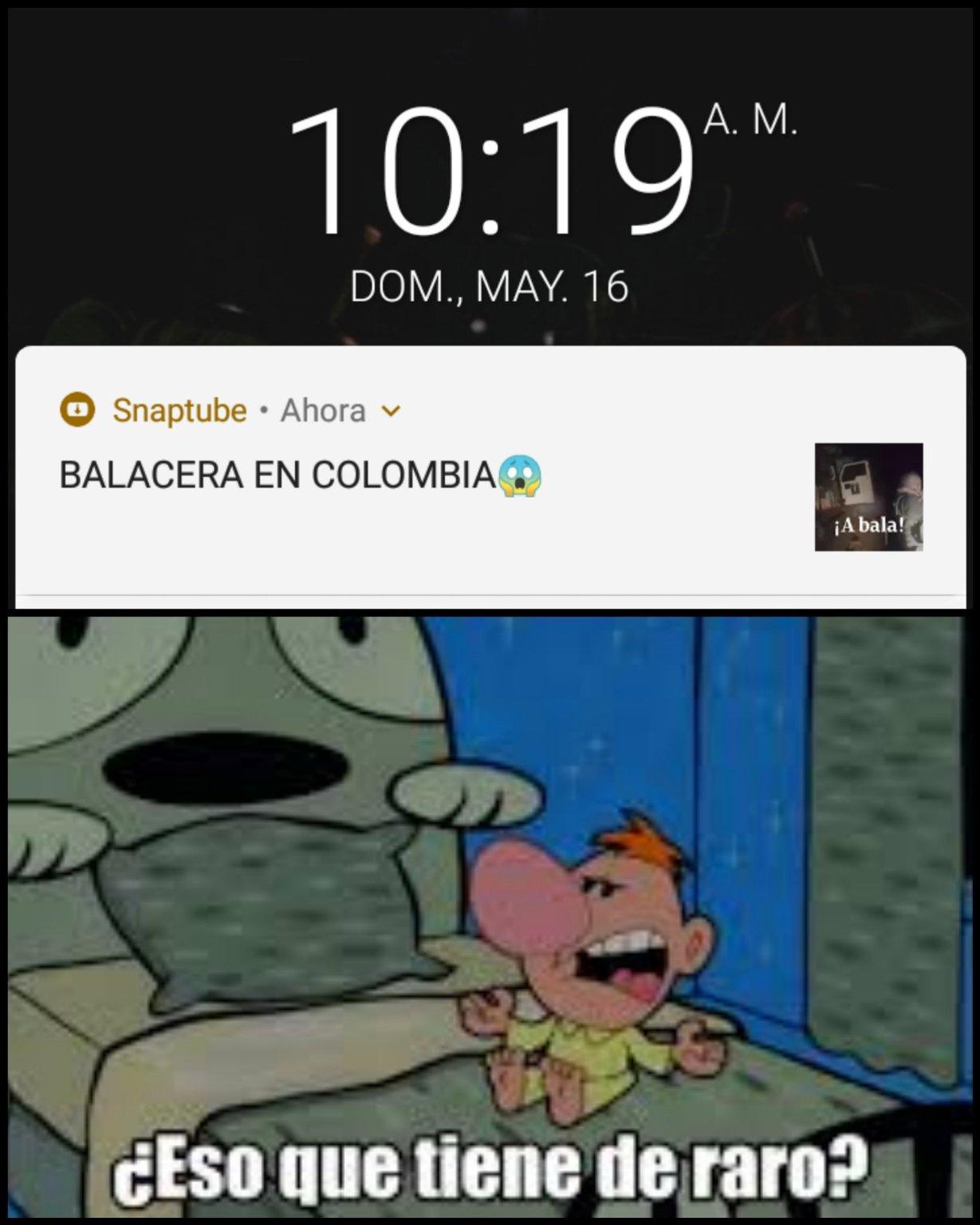 Un colombiano burlandose de lo q pasa en colombia XD - meme