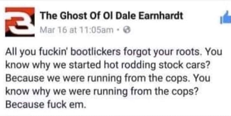 Dale Earnhardt - meme