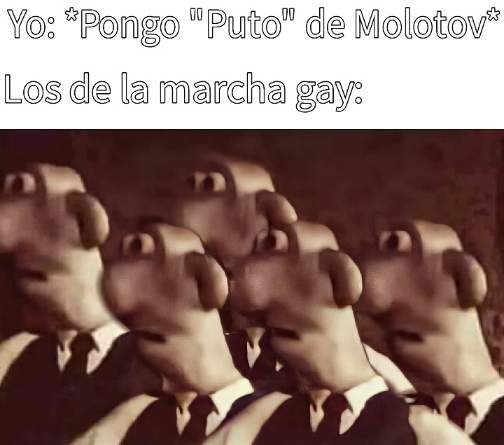 Marcha - meme