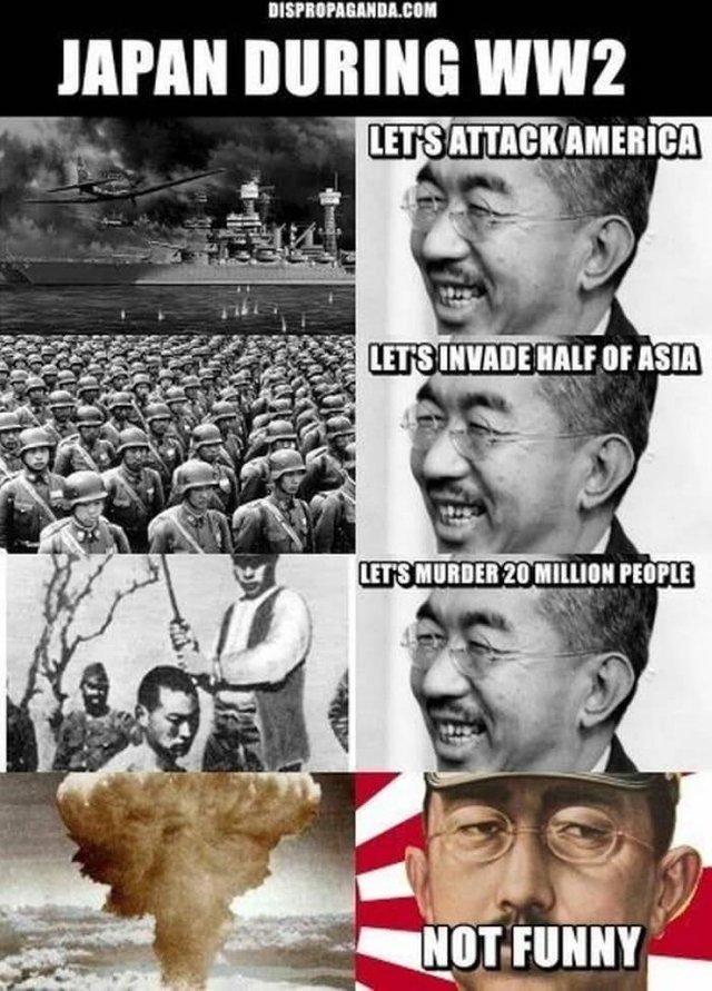Japan during WW2 - meme