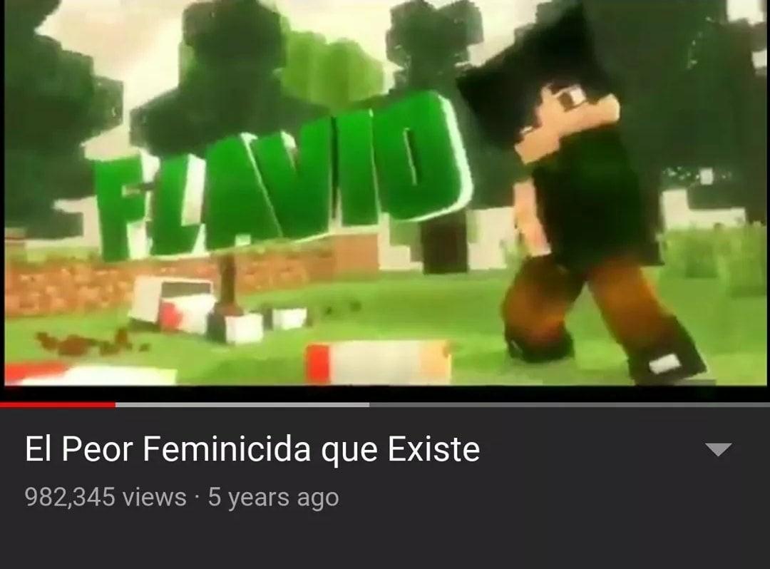 tremendo careverga el FLAVIO - meme