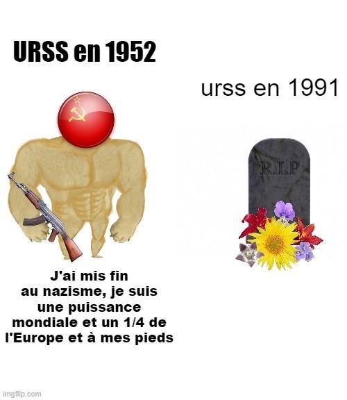 rip l'URSS - meme