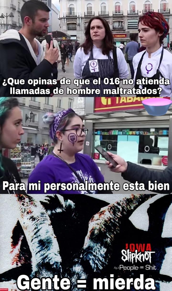 Las feminazis son una porquería - meme