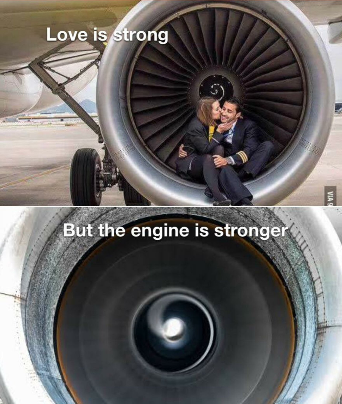 Love is strong - meme