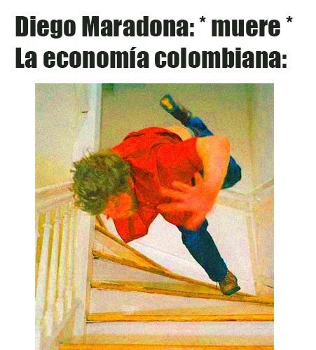 Adiós Maradona - meme