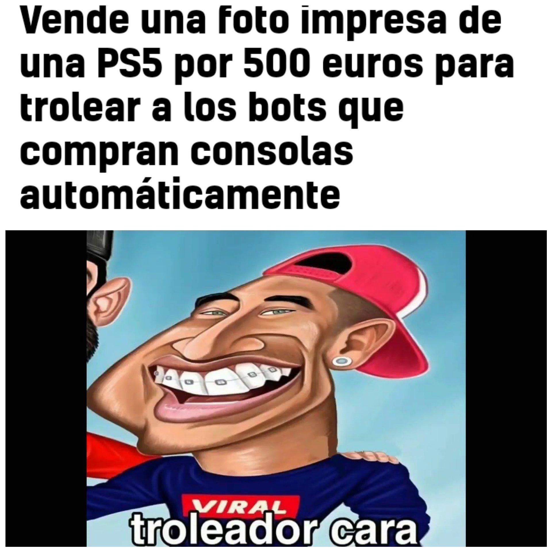 Trolleador de bots xdd - meme