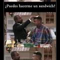 Comenta de que quieres tu sándwich