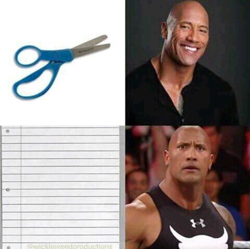 The Rock - meme