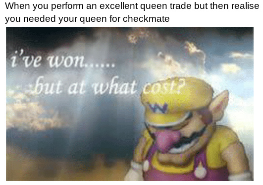Queen Trades Suck Sometimes - meme