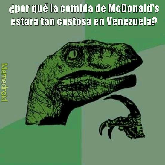 La ultima vez que fui a McDonald's fue como en el 2016 - meme