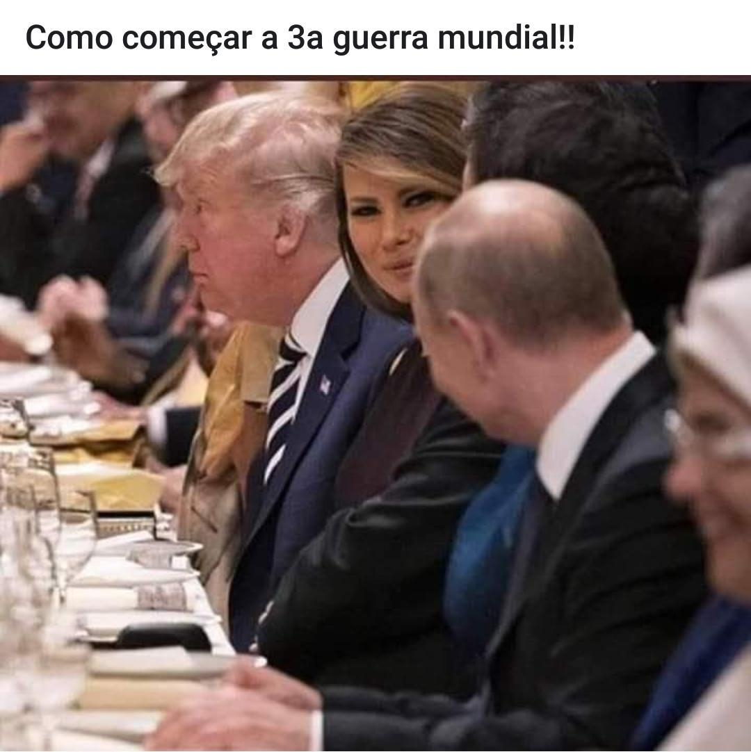O Trump vai ficar Putin! - meme