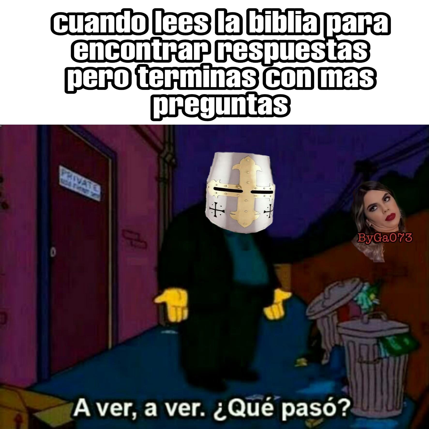 Bíblica - meme