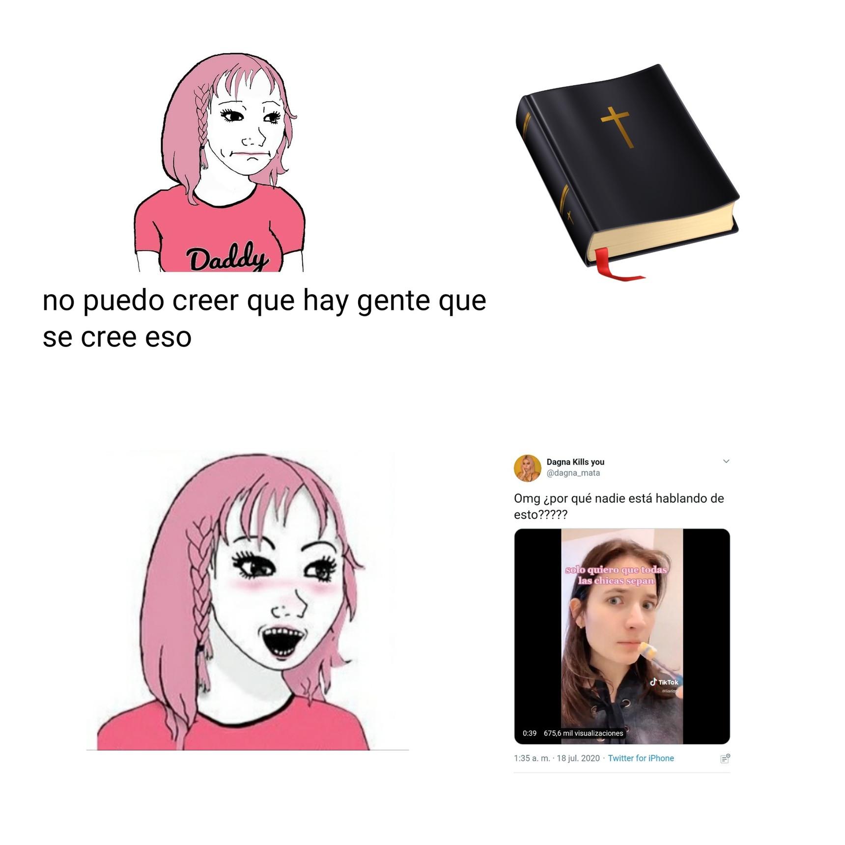 feminazis b like - meme