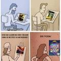O assunto é capa de jogos