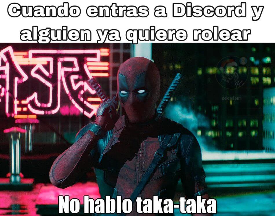 Discord moment - meme