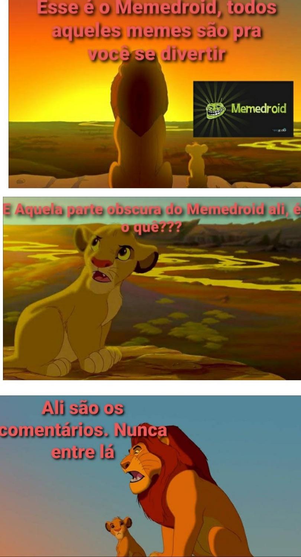 Rei Leão - meme