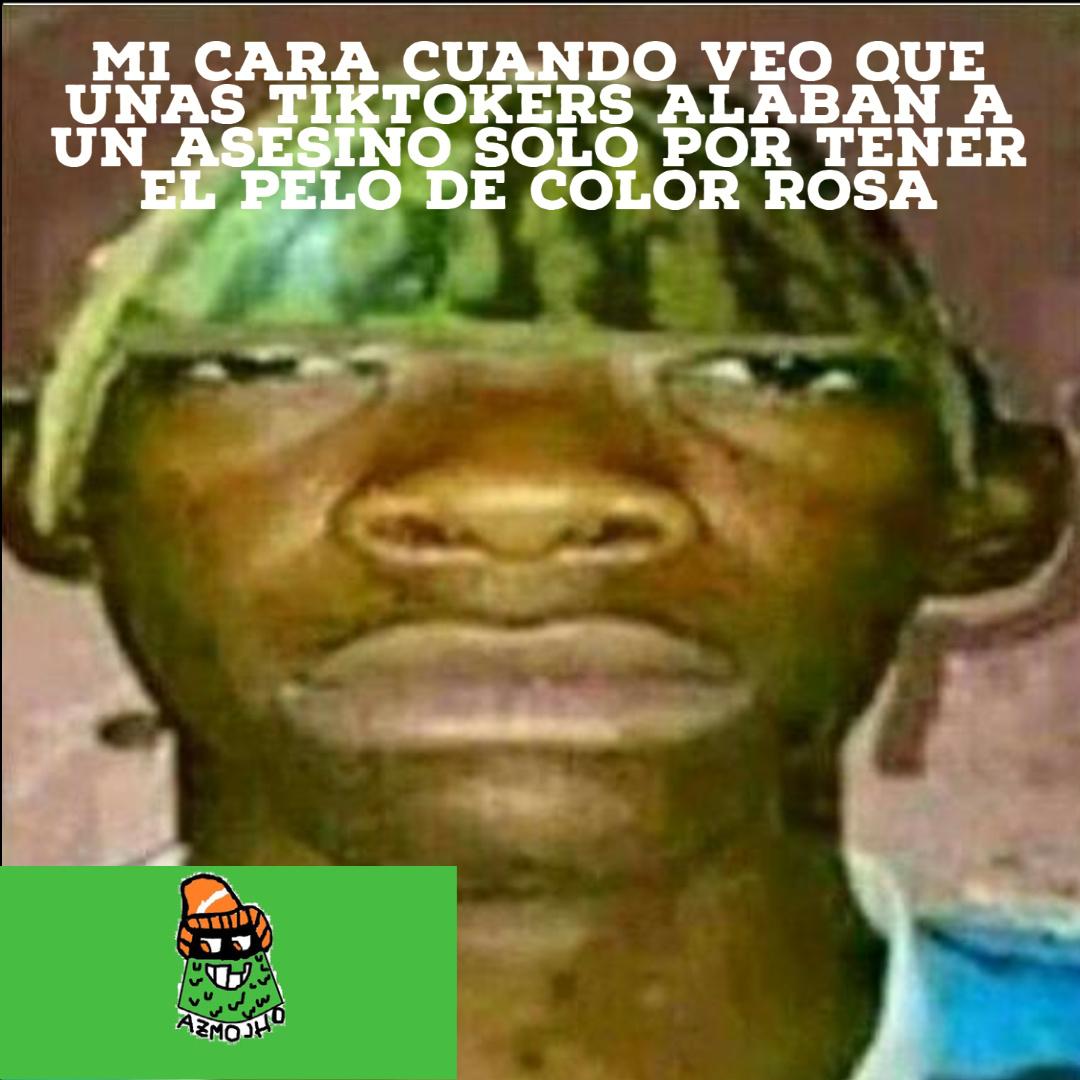 Pinche color rosa de los cojones - meme
