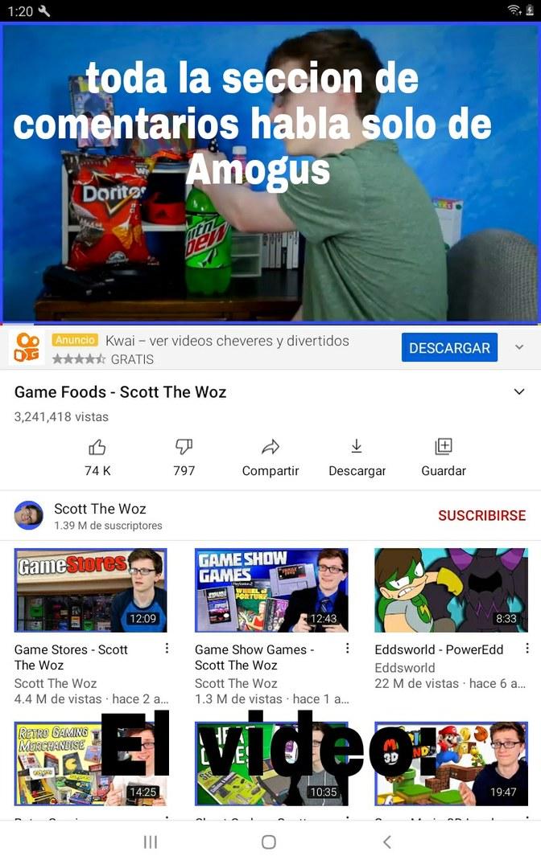 AMOGUS - meme
