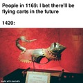 Flying cats in the future