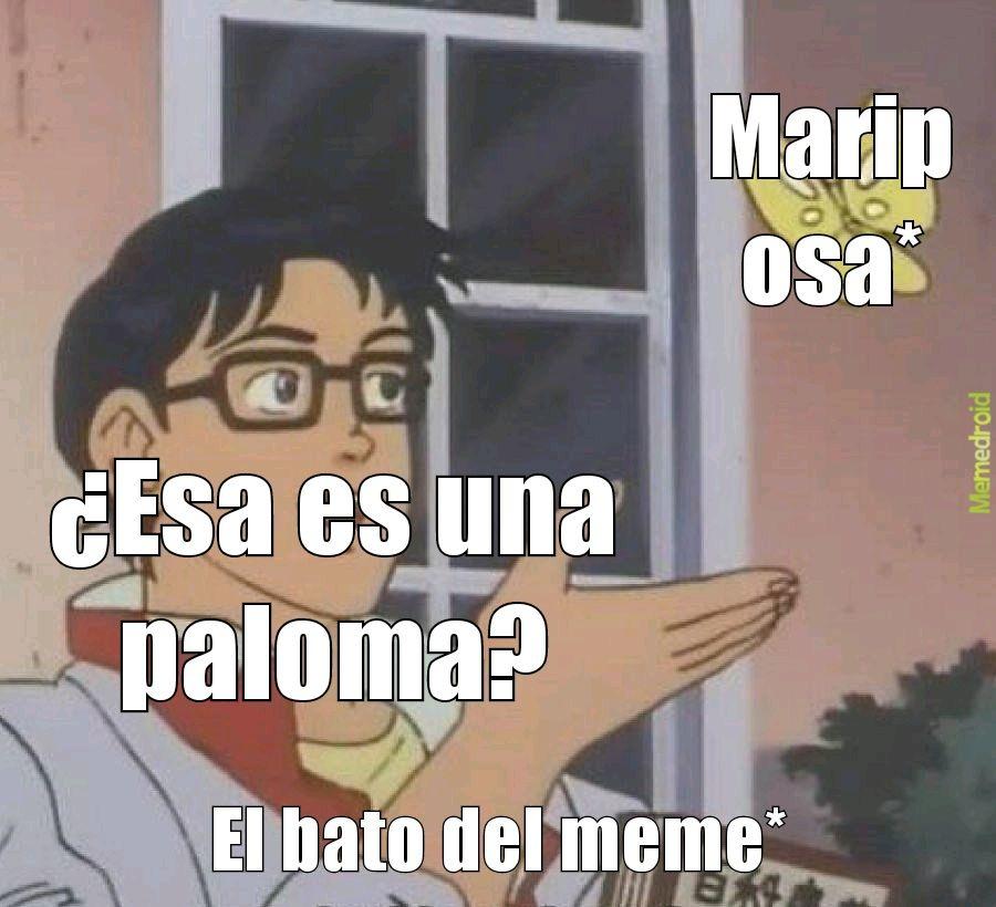 Lo que dice el meme original