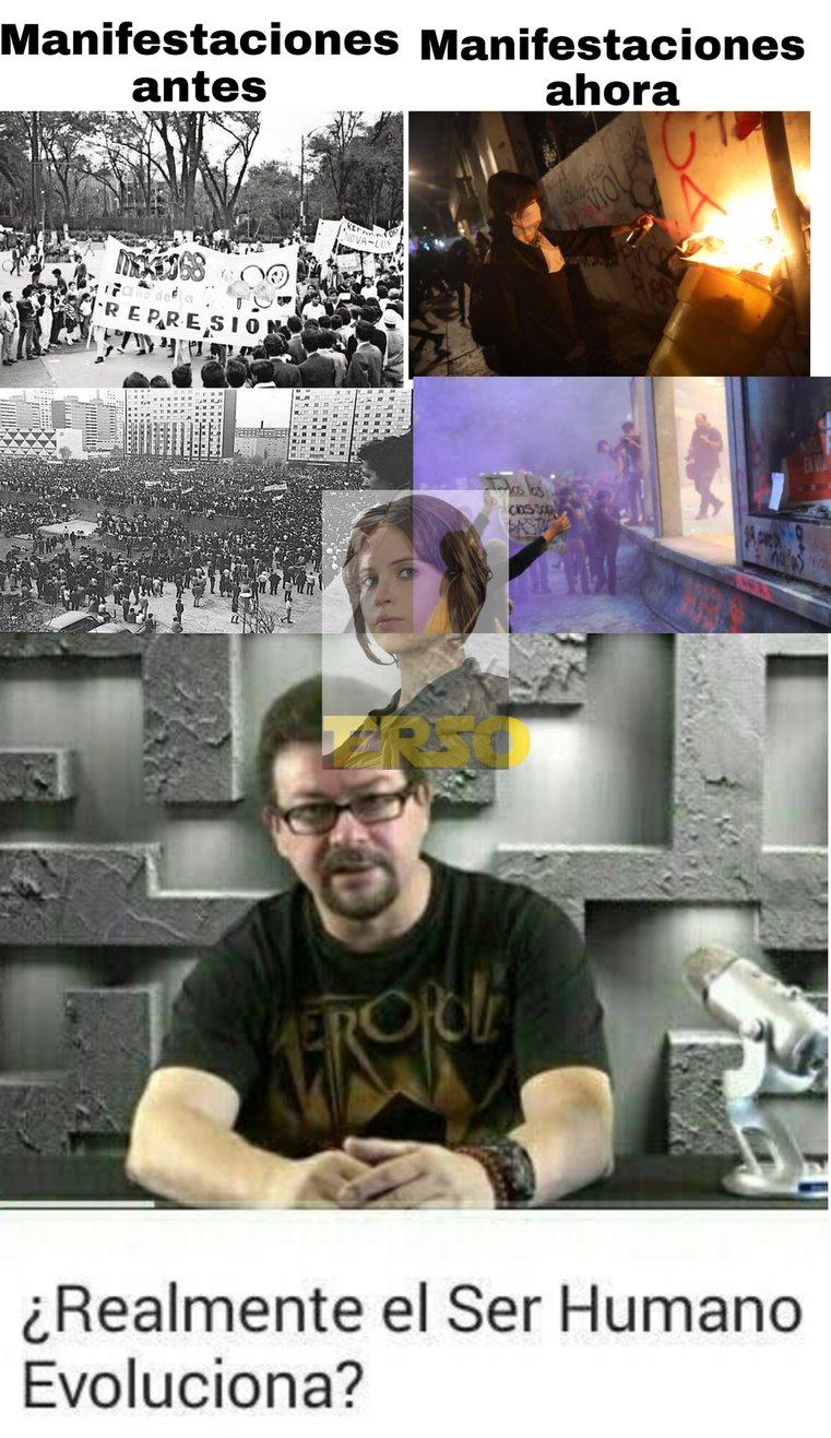 Un meme inspirado en los sucesos conmemorados ayer