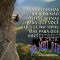 Escalem montanhas