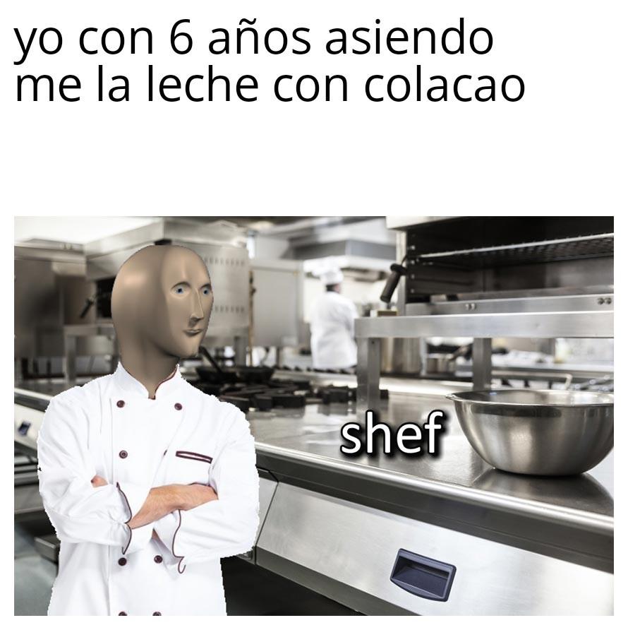 Pro shef - meme