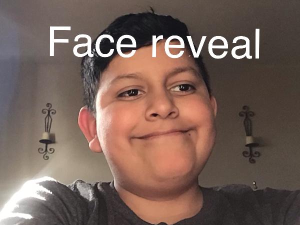 Face reveal - meme