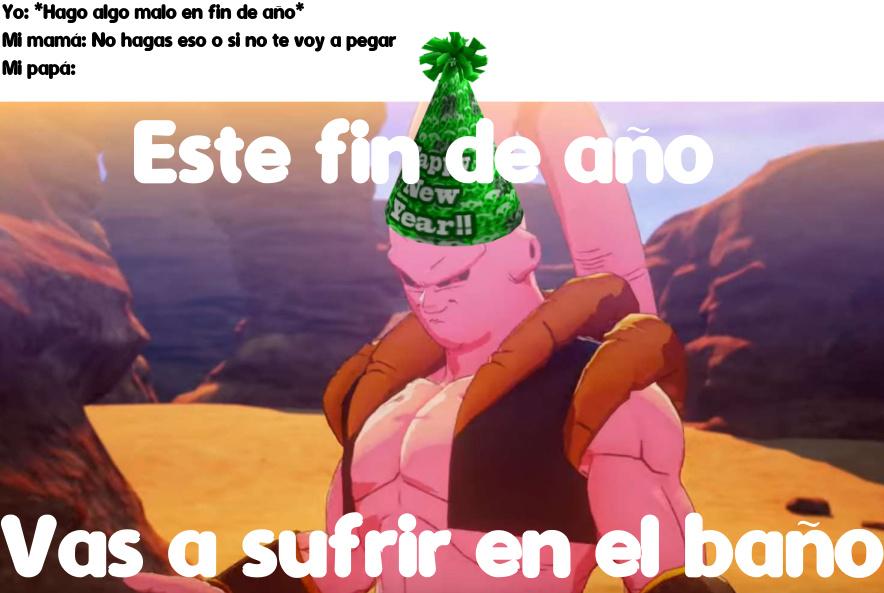 VAS A SUFRIR EN EL BAÑO (CREEEEO que es mi ultimo meme del año)