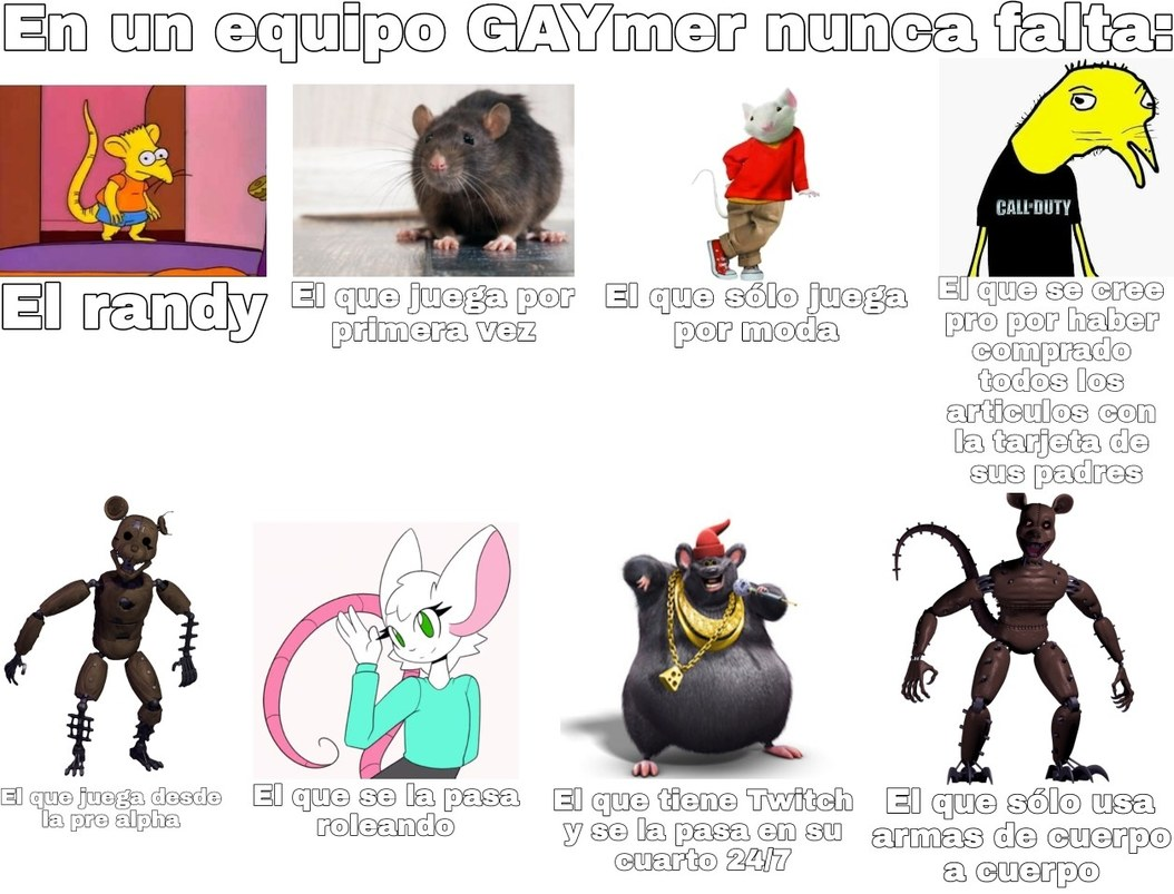 Momos para ratas:greek: - meme