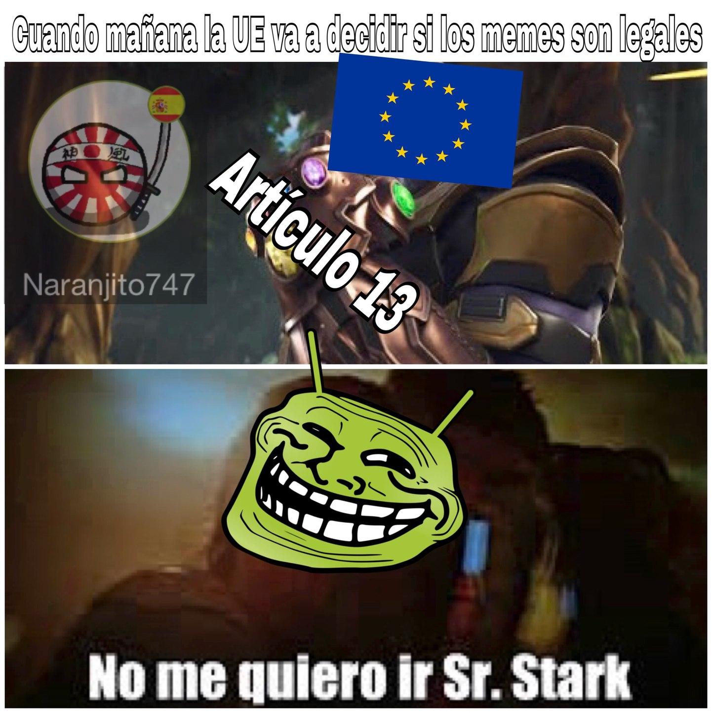#SaveYourInternet - meme