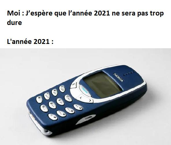 Bonne année 2021 - meme