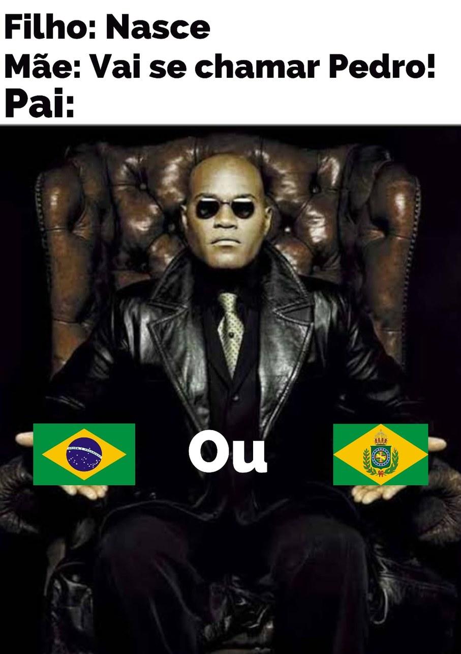 Monarquia ou Republica garai!? - meme