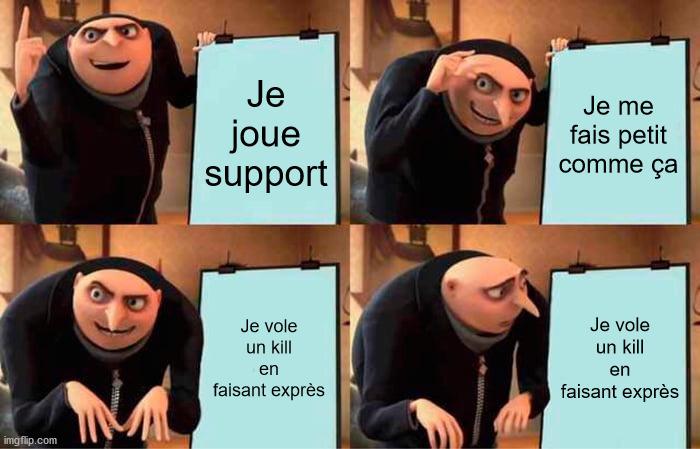 Brand support be like - meme