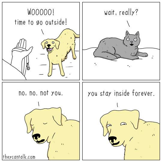 You stay inside forever - meme