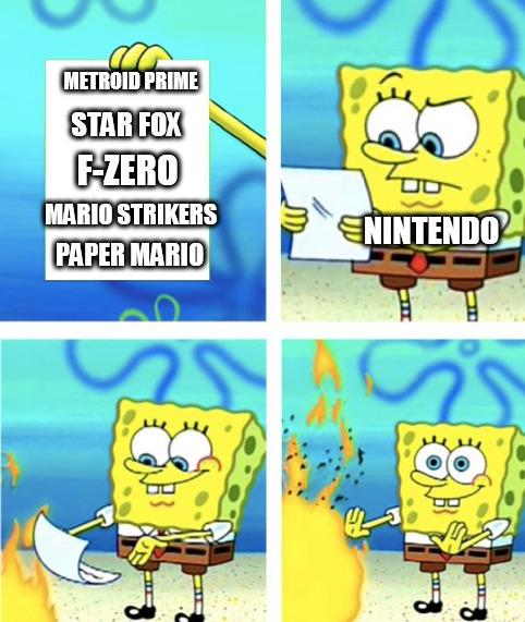 Excuse me Nintendo WTF - meme